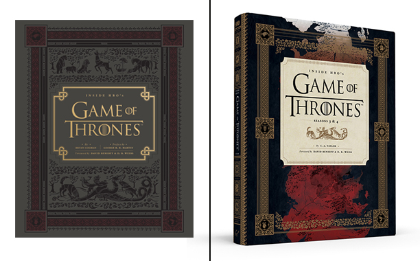 Inside Game of Thrones - Seasons 1/2 and 3/ 4