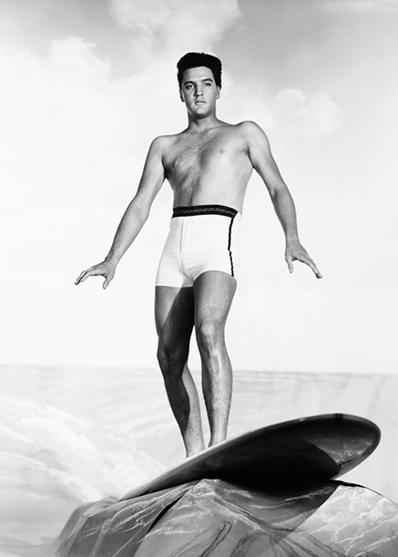 Elvis Presley as Chad Gates in Blue Hawaii