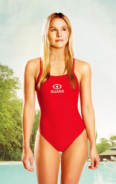 Kristen Bell as Leigh London in The Lifeguard