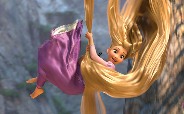 2010: Voiced Rapunzel in Disney's Animated Tangled