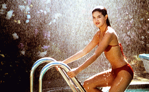 Phoebe Cates as Linda Barrett in Fast Times at Ridgemont High