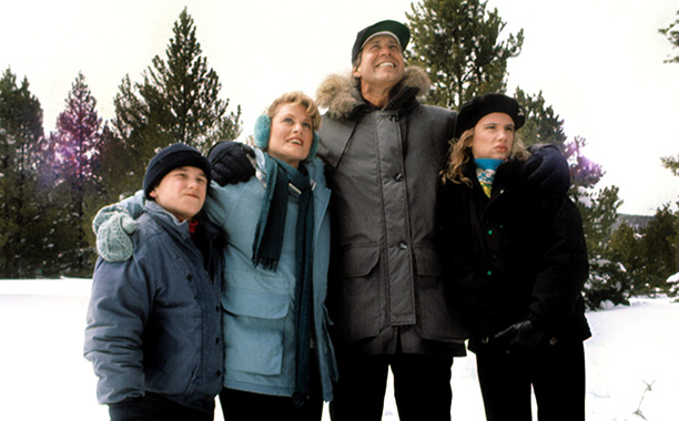 The Griswolds in National Lampoon's Christmas Vacation