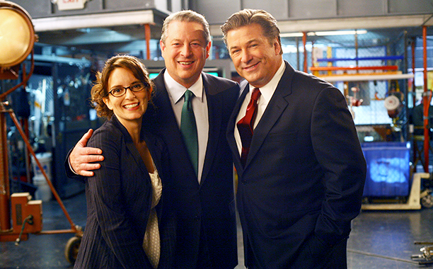 Al Gore on 30 Rock in 2007 and 2009