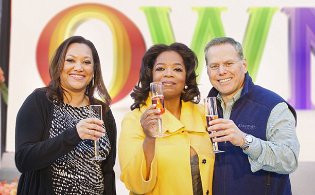 The New Oprah Winfrey Network, a.k.a. OWN, launches (January 2011)