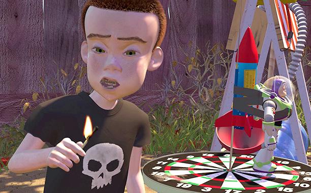 Sid Phillips (Erik von Detten) in Toy Story
