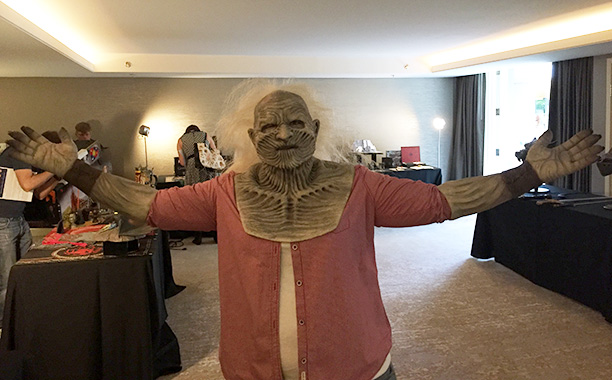 White Walker mask and hands
