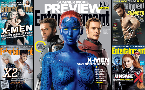 X-Men on the Cover of Entertainment Weekly