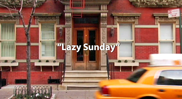 "The Title: ""Lazy Sunday"""
