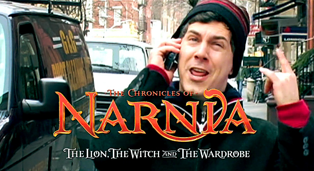 """Lyric: """"The Chronic-WHAT-cles of Narnia!"""""""