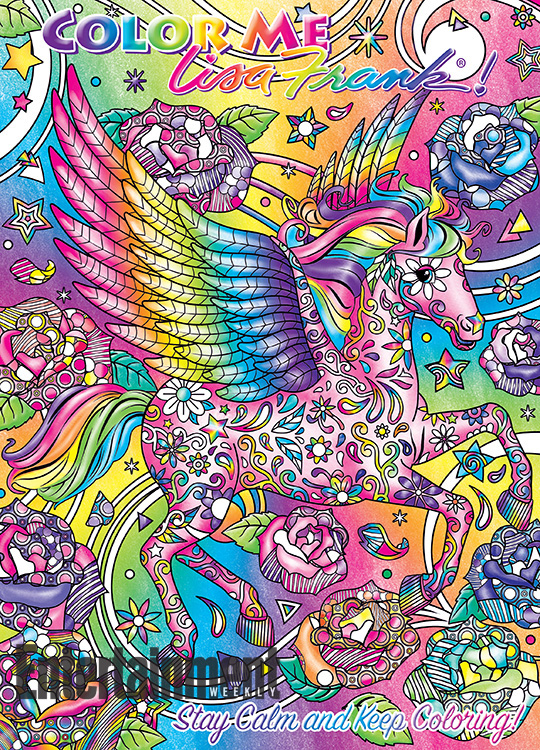 Amazon.com: Lisa Frank Color Me Coloring Book - Hunter: Toys & Games | 750x540