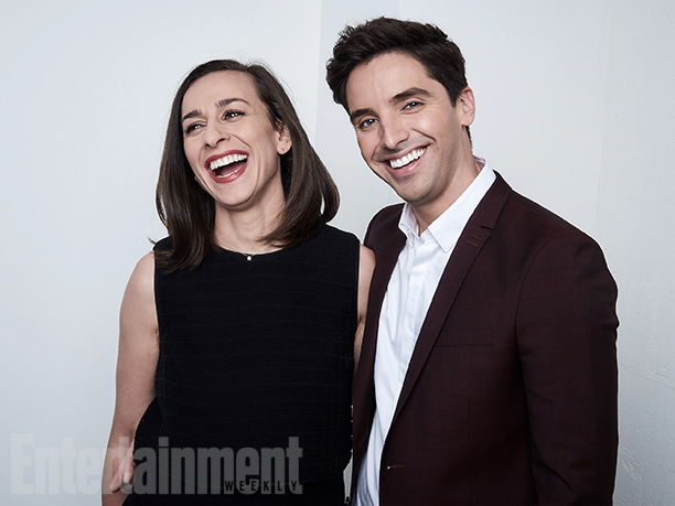 """Lucia Aniello and Paul W. Downs from """"Broad City"""""""
