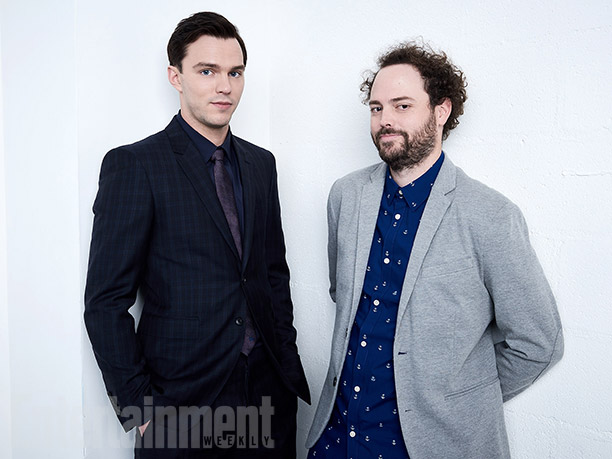 """Nicholas Hoult and Drake Doremus from """"Equals"""""""