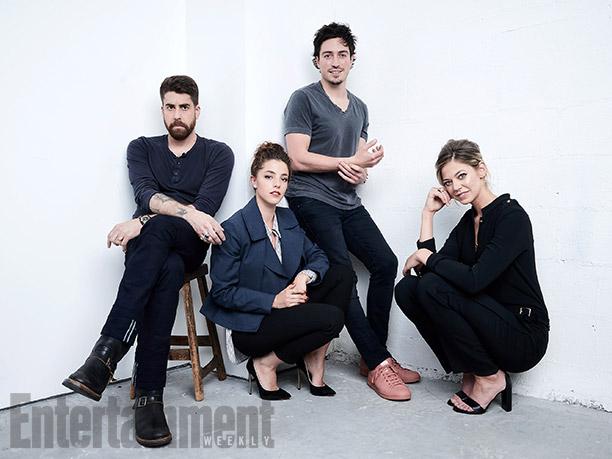"Adam Goldberg, Olivia Thirlby, Ben Feldman, and Analeigh Tipton from ""Between Us"""