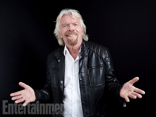 "Sir Richard Branson from ""Don't Look Down"""