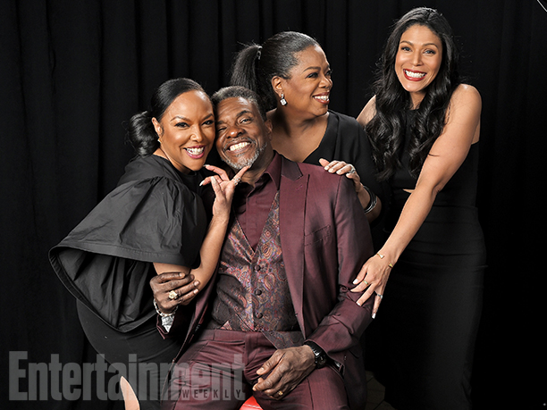 "Lynn Whitfield, Keith David, Oprah Winfrey, and Merle Dandridge from ""Greenleaf"""
