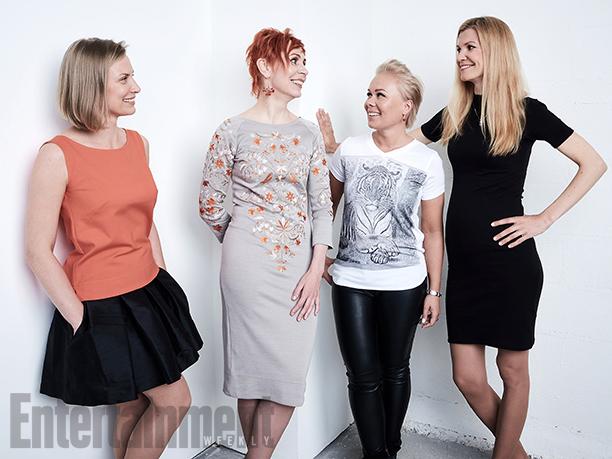 """Aet Laigu, Leana Jalukse, Tiina Malberg, and Kadri Kousaar from """"Mother"""""""