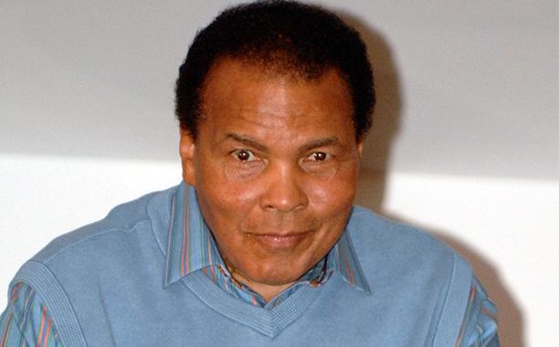 Muhammad Ali on Jan. 17, 2010