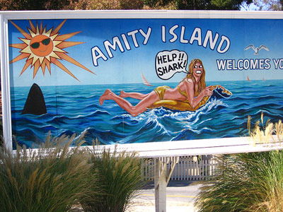 Jaws | *Amity Island Summer getaways don't get much more exciting than this, especially for lovers of marine life. A dip in our waters* will get you…