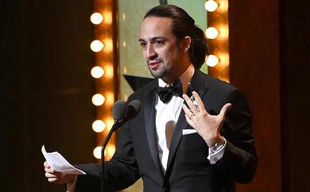 Lin-Manuel Miranda's Shakespearean win