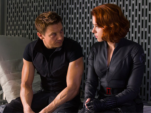 Marvel's The Avengers, Jeremy Renner, ... | She claimed her zeal to rescue Hawkeye from Loki's mind control was just about clearing the red from her ledger, even though in the comic…