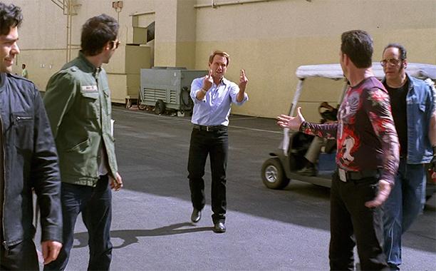 Christian Slater as Christian Slater in Season 8 (2011)