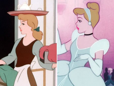 Cinderella (Movie - 1950) | ...Cinderelly's! The lowly maid's typically rage-inducing bangs somehow develop an almost stately character once the rest of her follicular baggage has been swept into an…