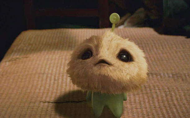 The cuddly, big-eyed extraterrestrial from Stephen Chow's ( Kung Fu Hustle, Shaolin Soccer ) family film appears to have been designed in a lab for…