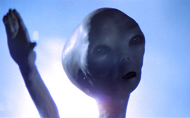 Of the more traditional, big-headed alien ilk, these UFO-travelers from Steven Spielberg's follow-up to Jaws were definitely more viewer-friendly than that shark. Their friendly faces…