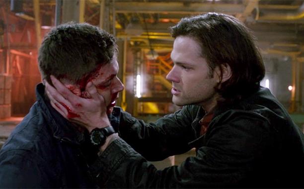 3. Dean stabbed by Metatron (Season 9, Episode 23)