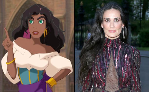 Esmeralda (Demi Moore)