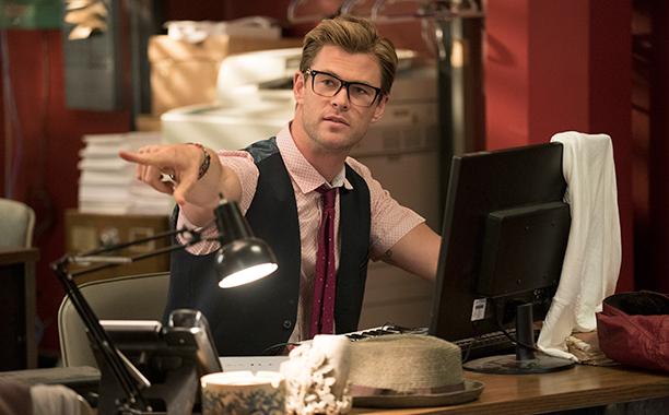 Chris Hemsworth, Ghostbusters, July 15