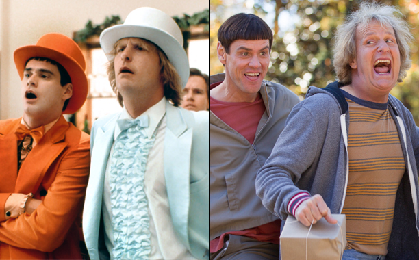 Dumb and Dumber (1994); Dumb and Dumber To(2014)