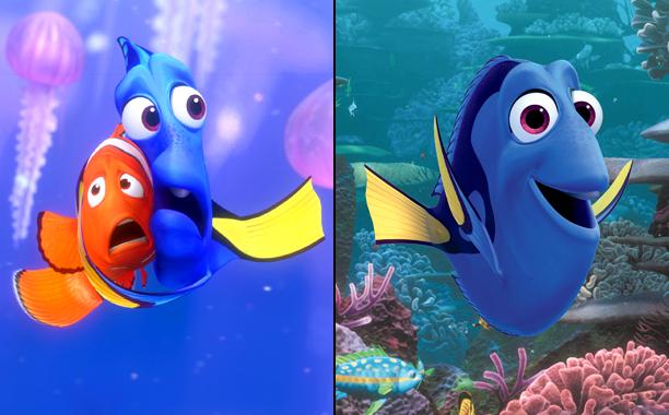 Finding Nemo (2003); Finding Dory (2016)