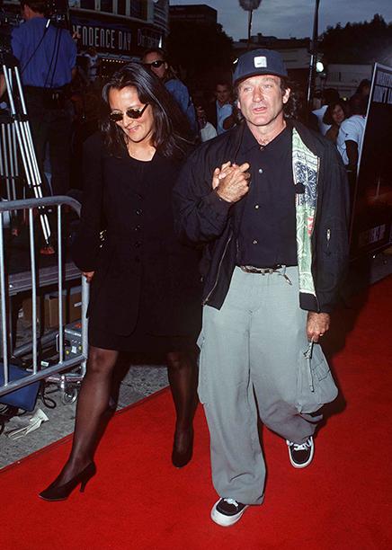 Robin Williams and Marsha Garces
