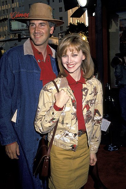 Bruce Tyson and Shelley Long