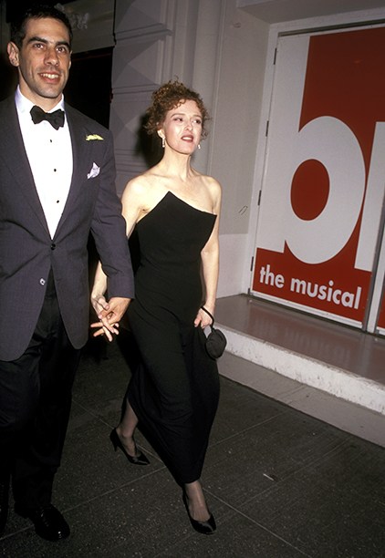 Presenter and performer Bernadette Peters and Then-Husband Michael Wittenberg