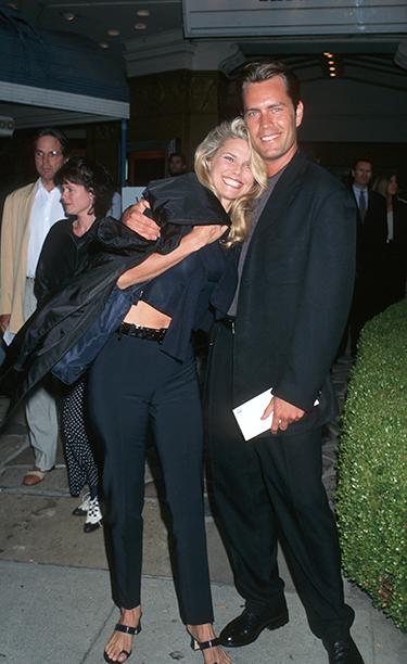 Christie Brinkley and Peter Cook