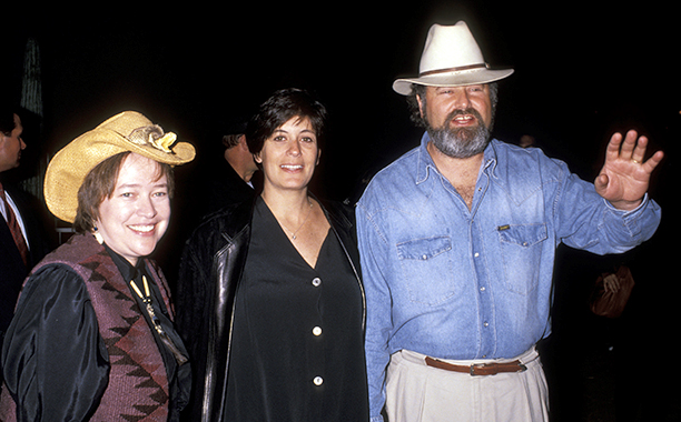 Kathy Bates, Michele Singer, and Rob Reiner