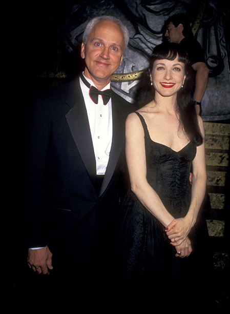 Presenter John Rubinstein and Bebe Neuwirth