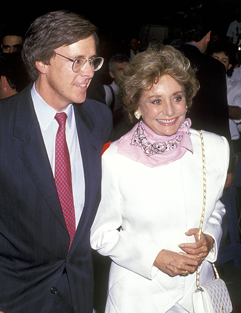 Joe Armstrong and Barbara Walters