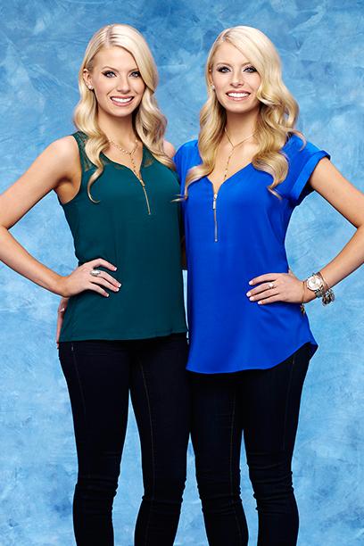 Haley and Emily Ferguson From The Bachelor, Season 20