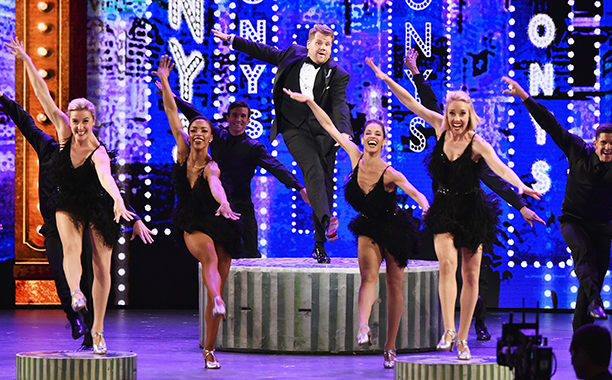 James Corden—and his opening number