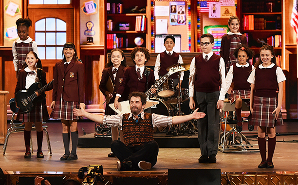 School of Rock blows the roof off Broadway