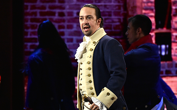 Hamilton starts, stops, and ends the show