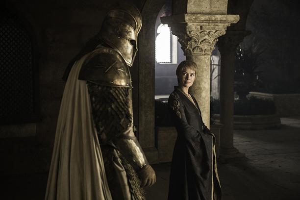 Hafþór Júlíus Björnsson as The Mountain and Lena Headey as Cersei Lannister