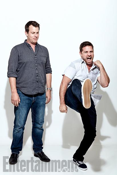 Person of Interest creator Jonah Nolan and executive producer Greg Plageman