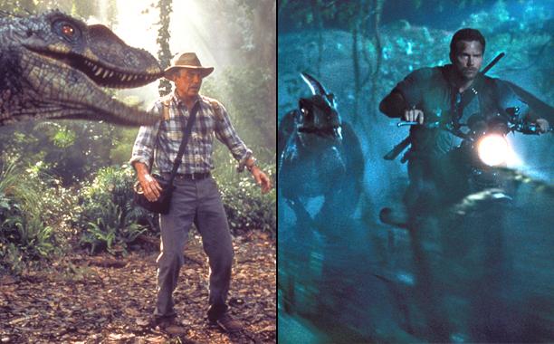 Jurassic Park III (2001); Jurassic World (2015)
