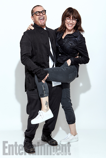 Sons of Anarchy creator Kurt Sutter and star Katey Sagal