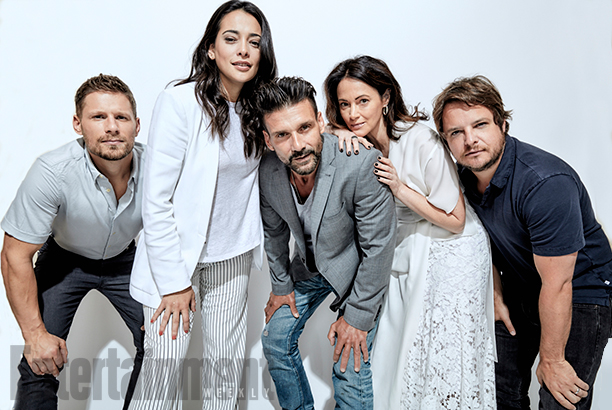 The cast of Kingdom