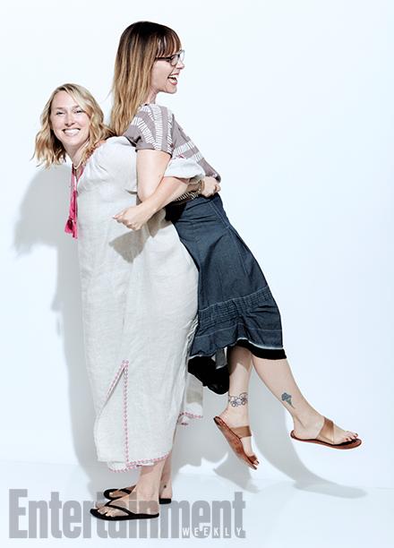 Casual executive producer Liz Tigelaar and Being Human executive producer Anna Fricke